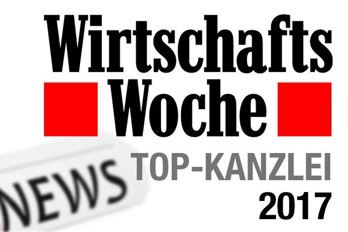 Kanzlei Uphoff ist Top-Kanzlei 2017